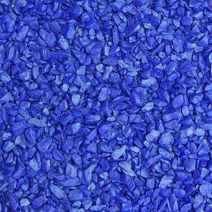 Декоративный щебень синий ДЩ-2