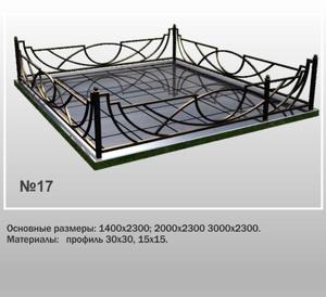 Ограда металлическая МО-17