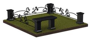 Ограда кованая 2