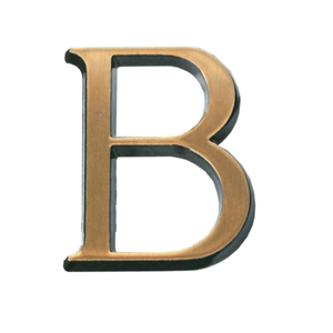 Бронза буквы